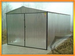 Garaj cu dimensiuni 3x5m şi acoperiş cu două pante